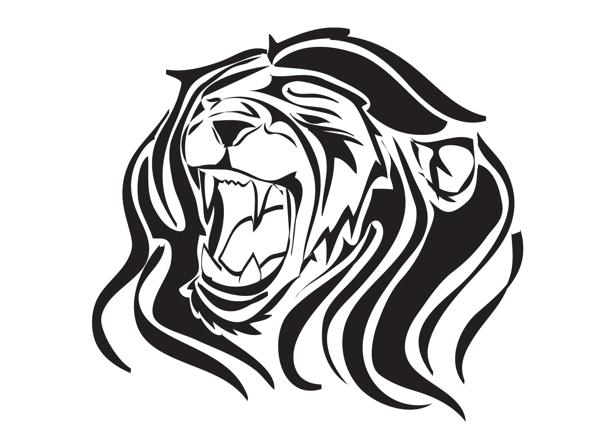 2048x1536 Lion Hd Clipart