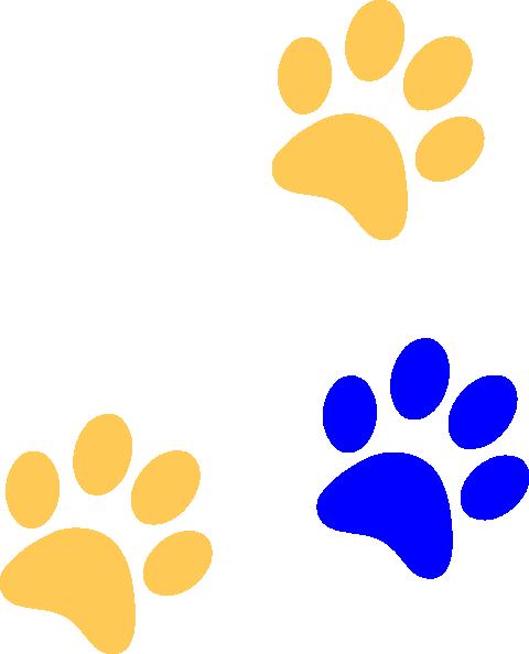 Lion Paw Print Clip Art
