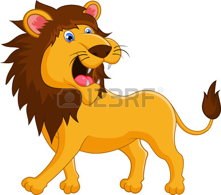 450x398 Lion Cartoon Roaring Royalty Free Cliparts, Vectors, And Stock