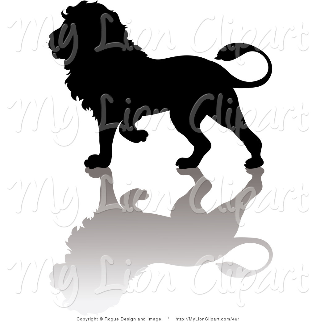 1024x1044 Clipart Free Lion Silhouette
