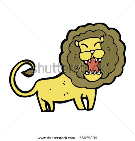 450x470 Roaring Lion Cartoon By Lineartestpilot, Via Shutterstock Clip