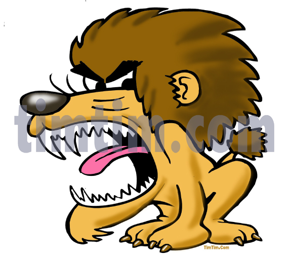 571x503 Free Drawing Of A Angry Lion From The Category Wild Animals