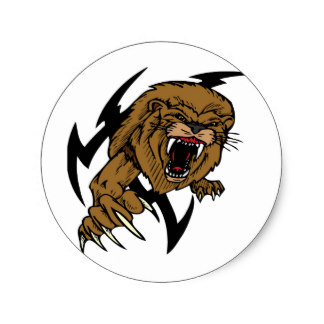 324x324 Lion Roar Stickers Zazzle