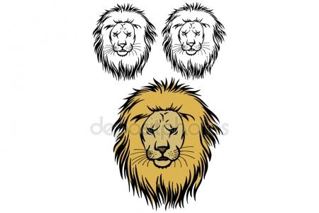 450x300 Pride Of Lions Stock Vectors, Royalty Free Pride Of Lions