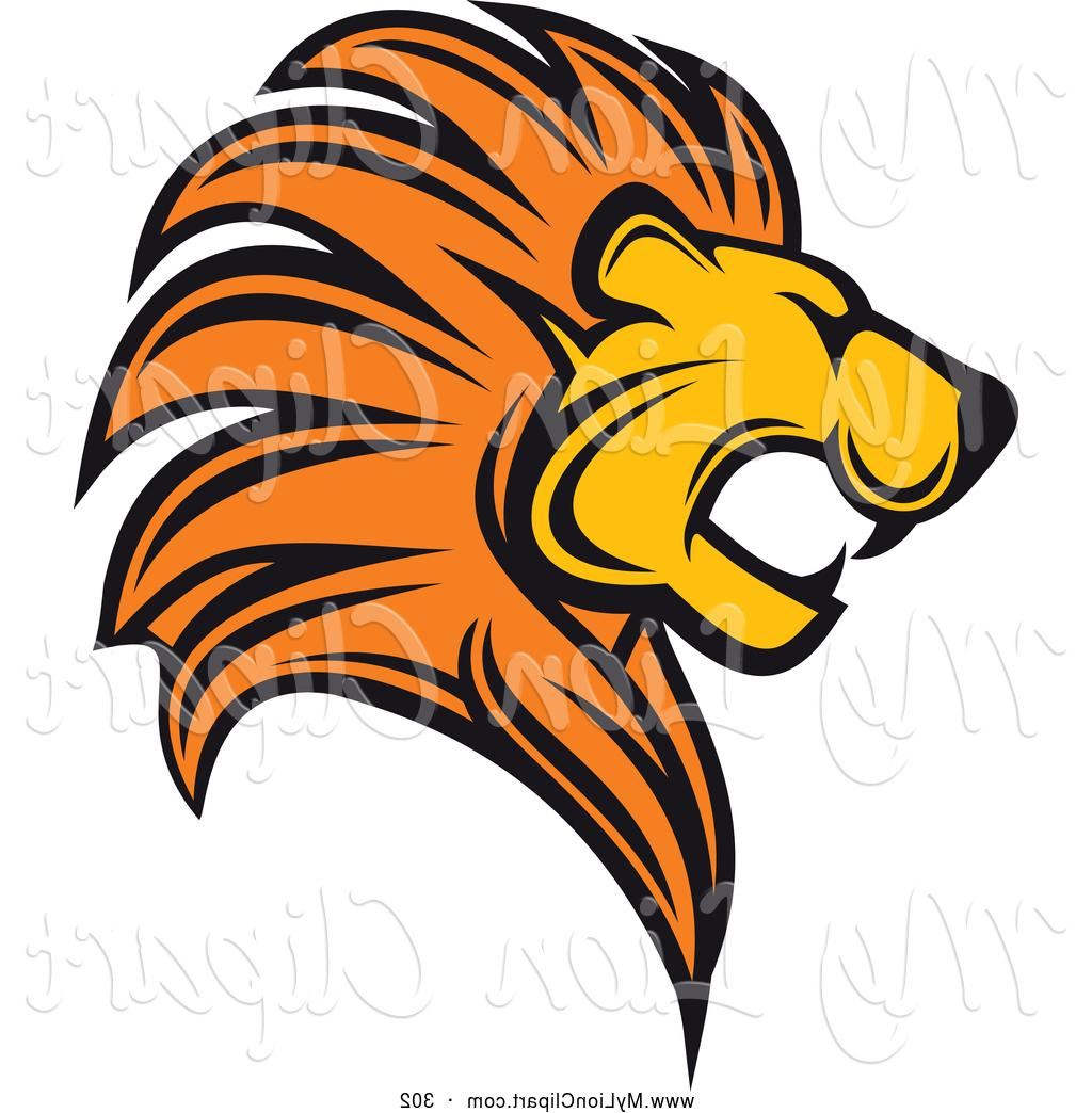 1024x1044 Best Free Clipart Of Roaring Lion Logo By Vector Tradition Sm Cdr