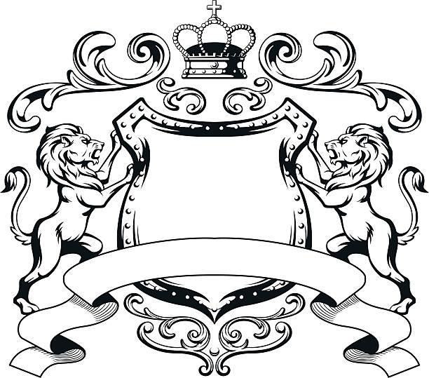 612x539 Lion Crest Clipart