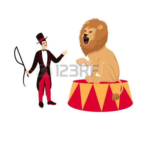 450x450 208 Lion Tamer Cliparts, Stock Vector And Royalty Free Lion Tamer