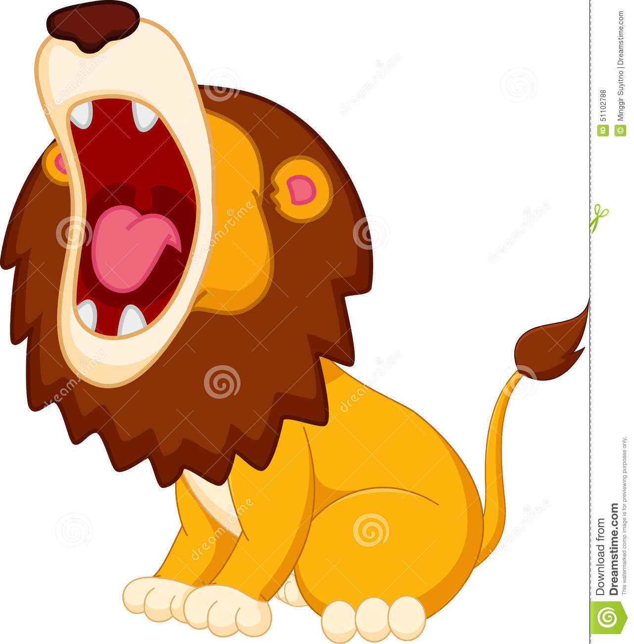 1281x1300 Lion's Mouth Clipart