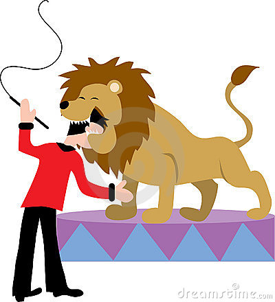 400x440 Lion Clipart Circus Lion