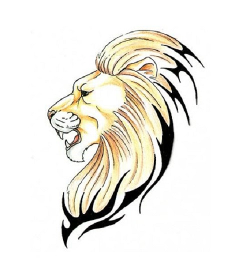 Lion Tattoo Png