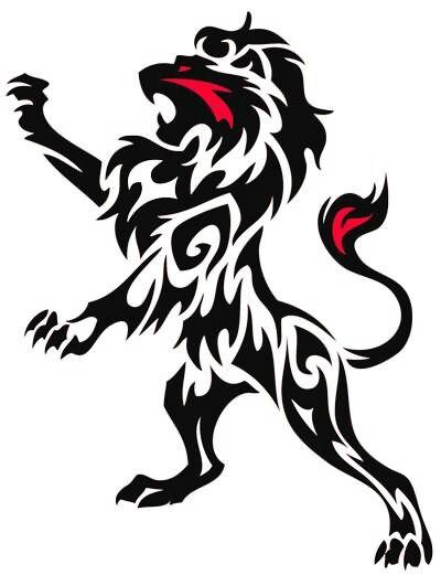 400x521 Best Tribal Lion Tattoo Ideas Mens Lion Tattoo