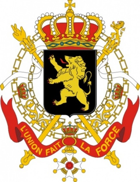 480x626 Coats Of Arms Of Belgium Government Clip Art With Lion And Crown