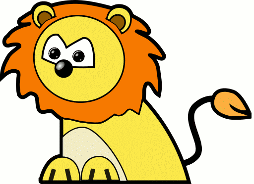 512x372 Free Lion Clipart And Animations