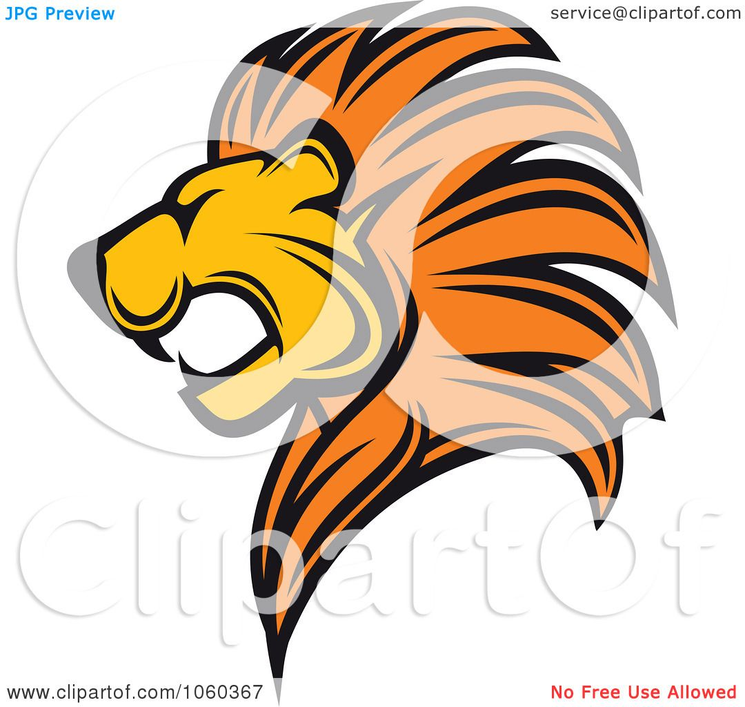 1080x1024 Royalty Free Vector Clip Art Illustration Of A Lion Logo By Vector