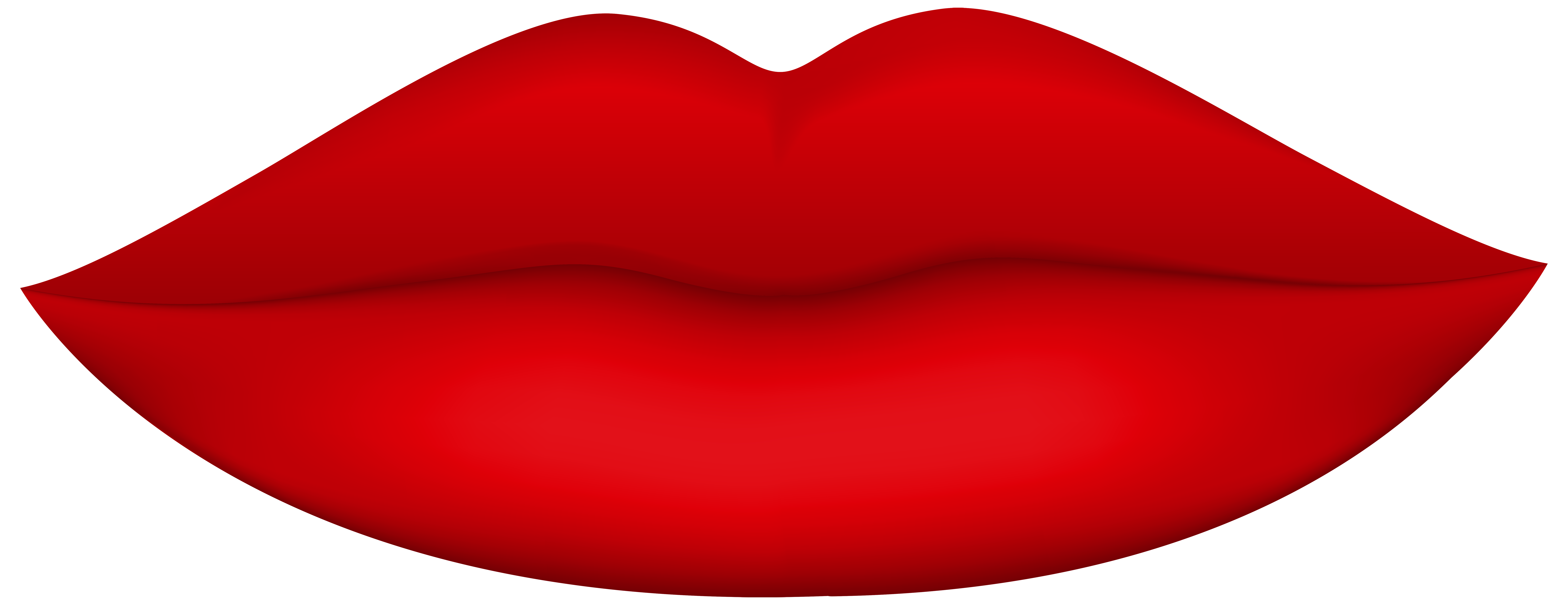 8000x3090 Red Lips Png Clip Art