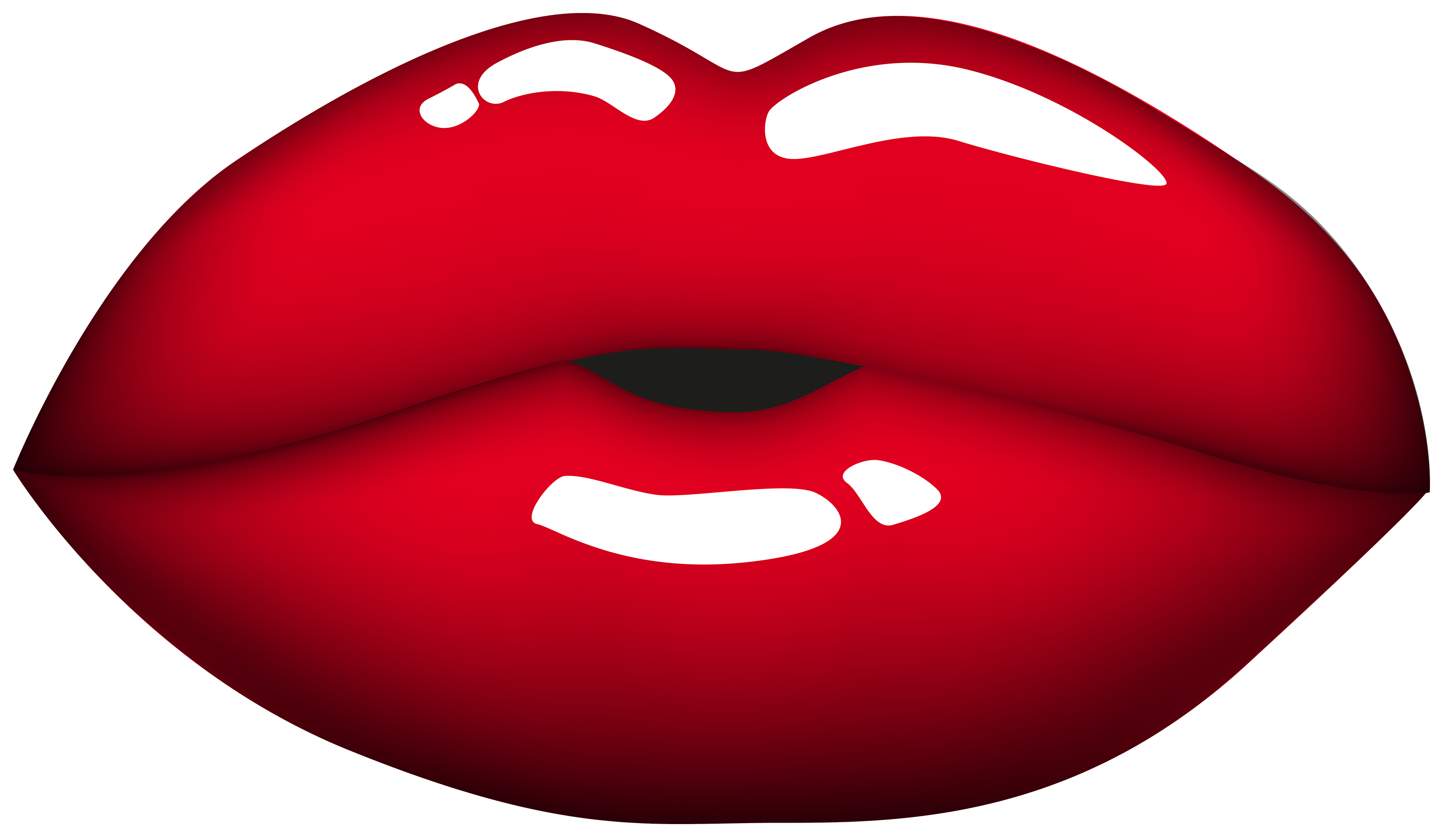 3000x1747 Red Mouth Png Clipart
