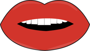 358x205 Lips Black And White Cartoon Lip Pictures Free Download Clip Art