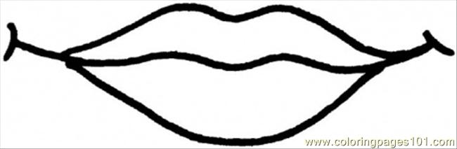 650x213 Lips Black And White Clipart Black And White