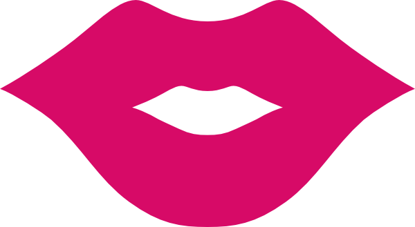 600x329 Clear Lips Pink Clip Art