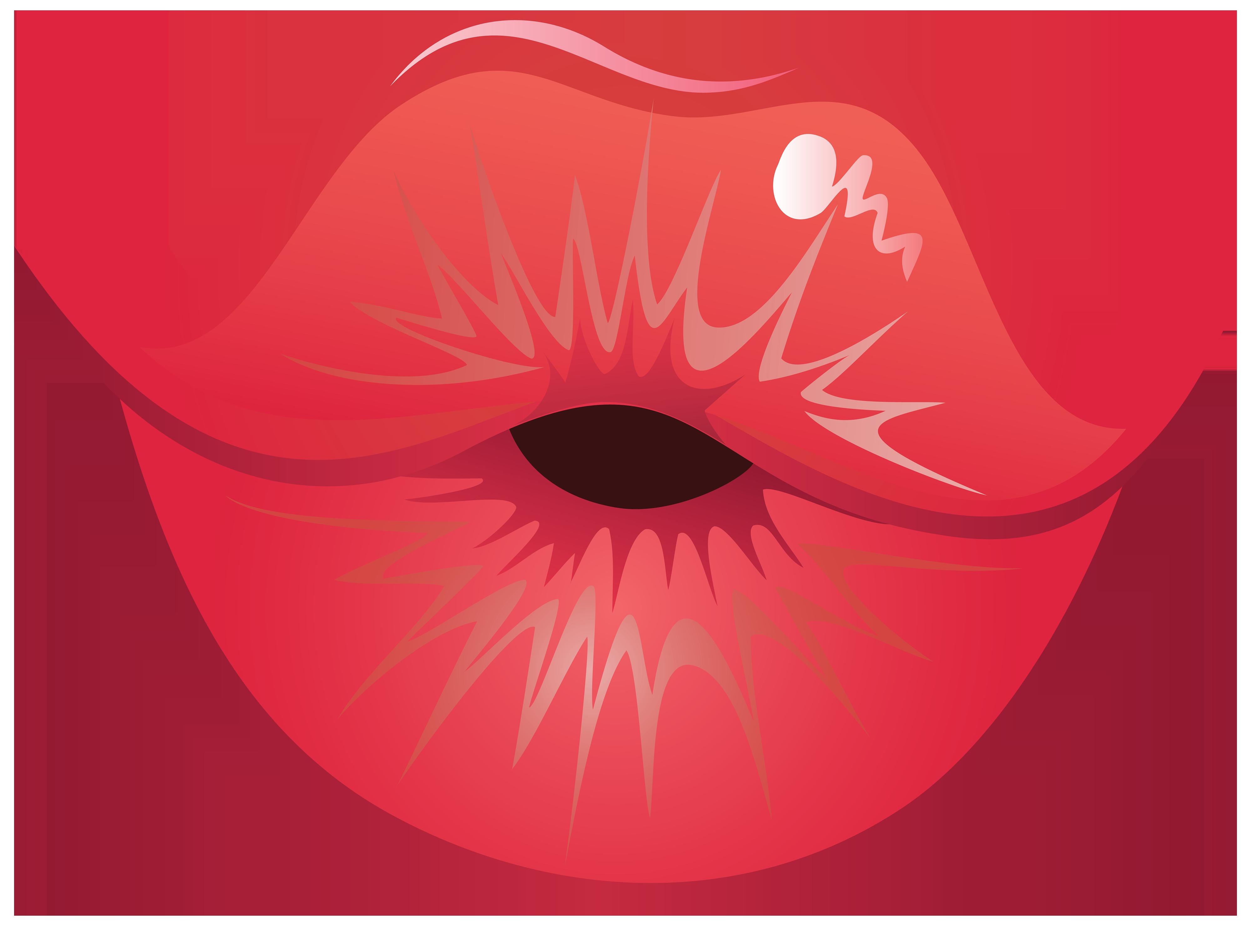 4000x2962 Lips Clipart Kissy Lip