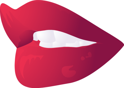400x285 Smiling Lips Clipart Image 8