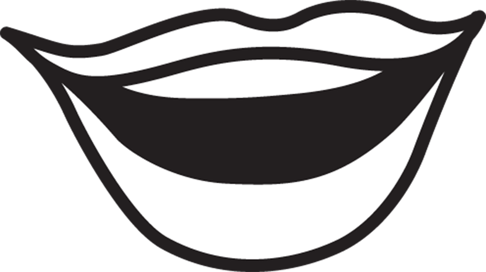 1600x897 Lips Clipart Lip Outline