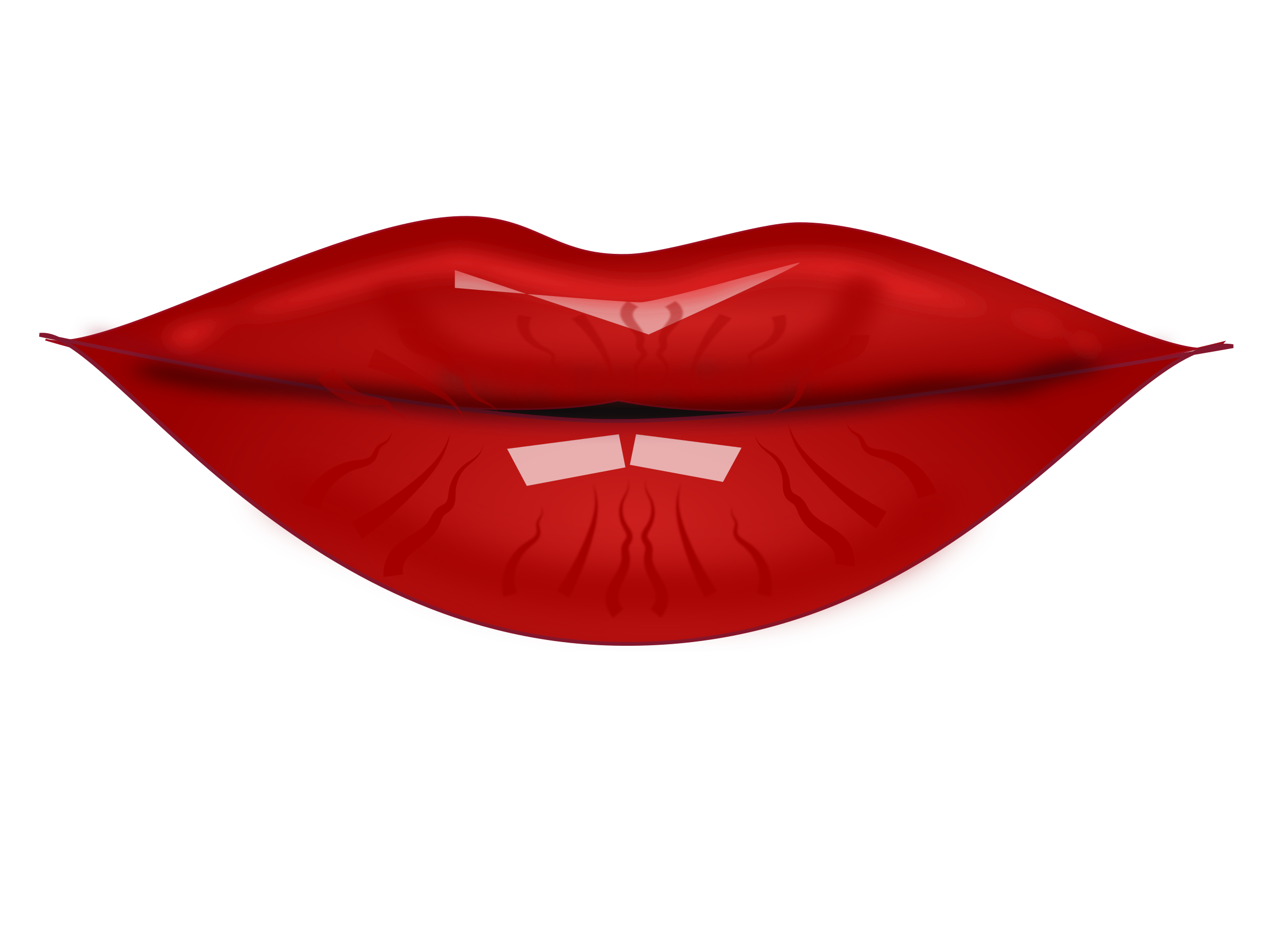 2400x1800 Clipart Lips By Netalloy