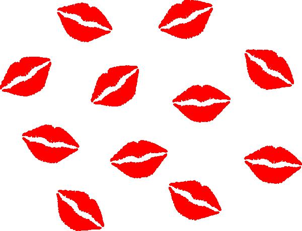 600x460 Lips Vector Clip Art