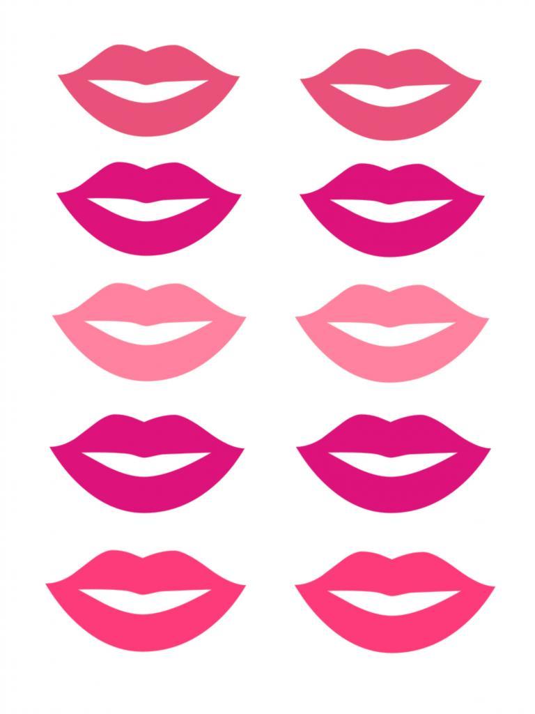 768x1024 Lips Clipart Prop