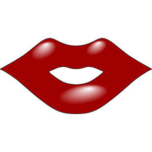 300x300 Red Lips Clipart Clipart 2