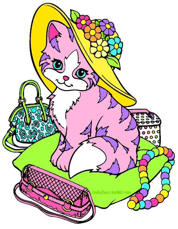 Lisa Frank Coloring Pages Free Download Best Lisa Frank