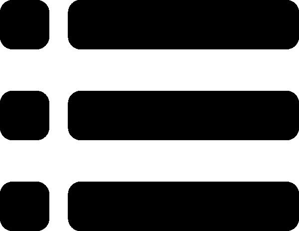 600x463 List Bullets Icon Clip Art