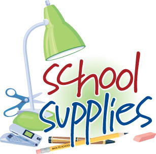 307x303 School Supplies List Free Clipart Images
