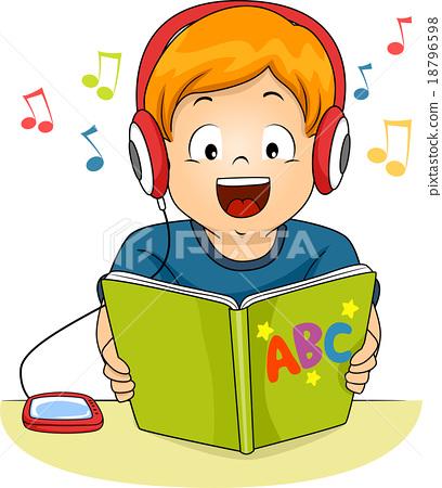 408x450 Kid Boy Audio Book Story Read Listen