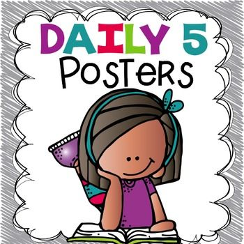 350x350 Best Daily Five Posters Ideas Daily 5 Posters