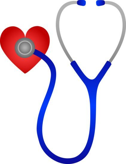 422x550 Just Hearts Stethoscope Listening To Heart Beat