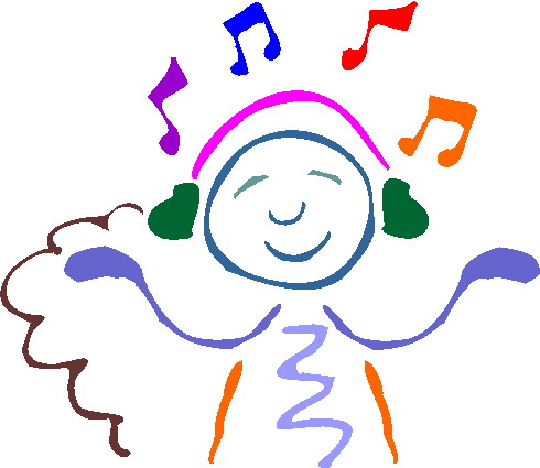 490x425 Listening To Music Clip Art Clipart Panda