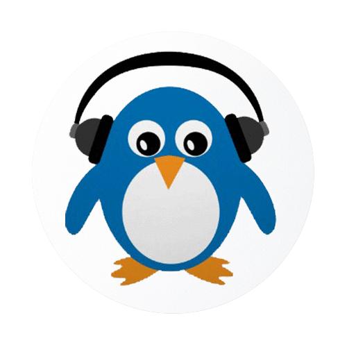 500x500 Music Clipart Penguin