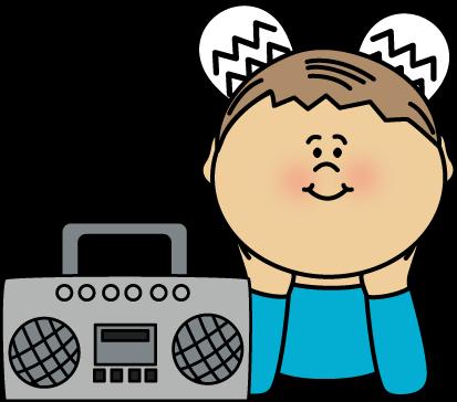 413x364 Music Clipart Radio