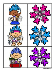 236x304 Trolls Themed Literacy Centers Sight Word And Word Family Games