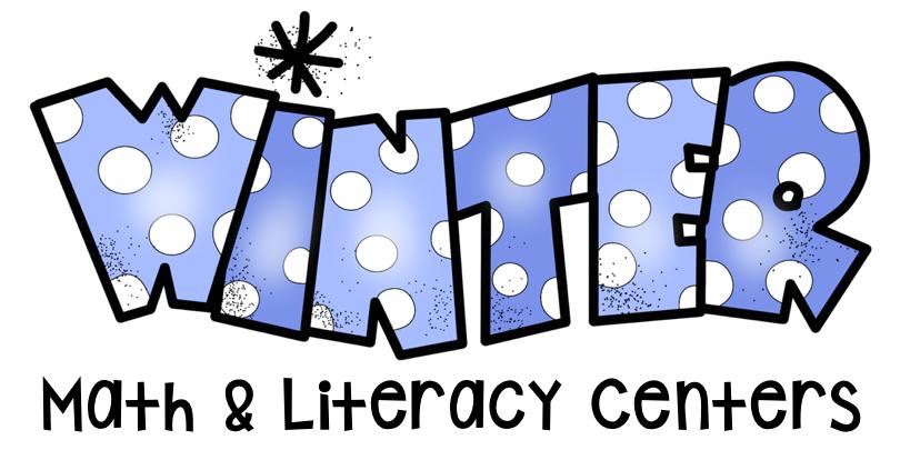 810x414 Happy Little Kindergarten Kindergarten Winter Math Amp Literacy Centers