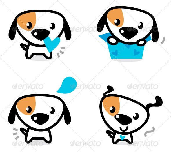 Little Dog Clipart