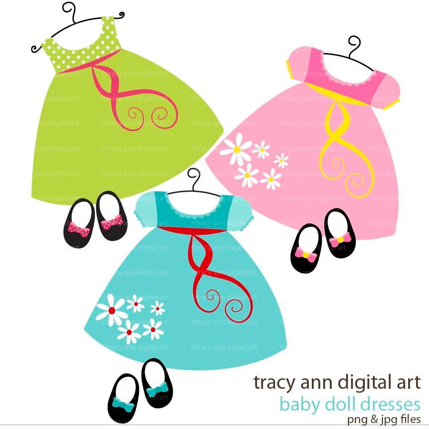 864x864 Little Girl Dress Clipartpopular Items For Baby Girl Clip Art