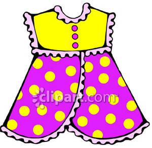 300x292 Girl's Pinafore Dress