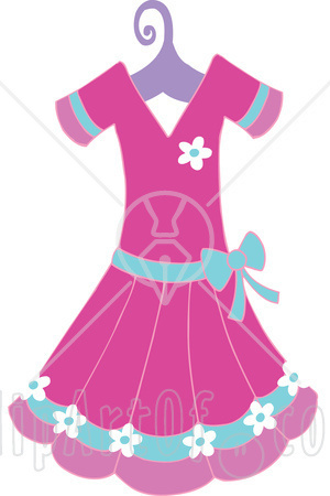 300x450 Party Dress Clipart