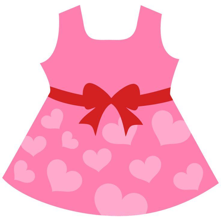 736x736 Pink Dress Clipart Childrens Clothes