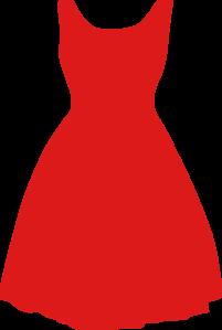 201x299 Red Dress Clip Art