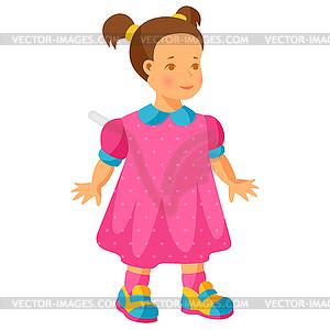 300x300 Little Girl In Pink Dress