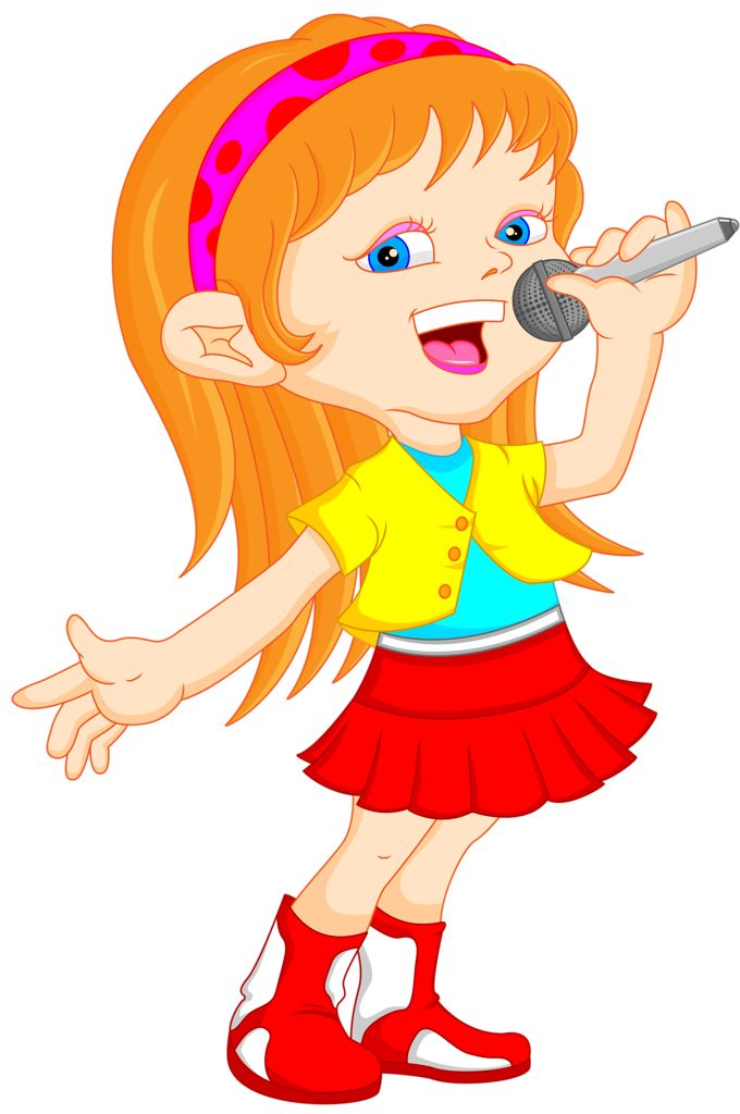 Little Girl Running Clipart