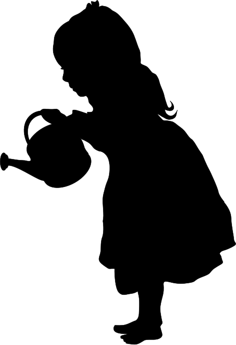 472x688 Girl Silhouette Silhouette Auf The Lady Httpwww